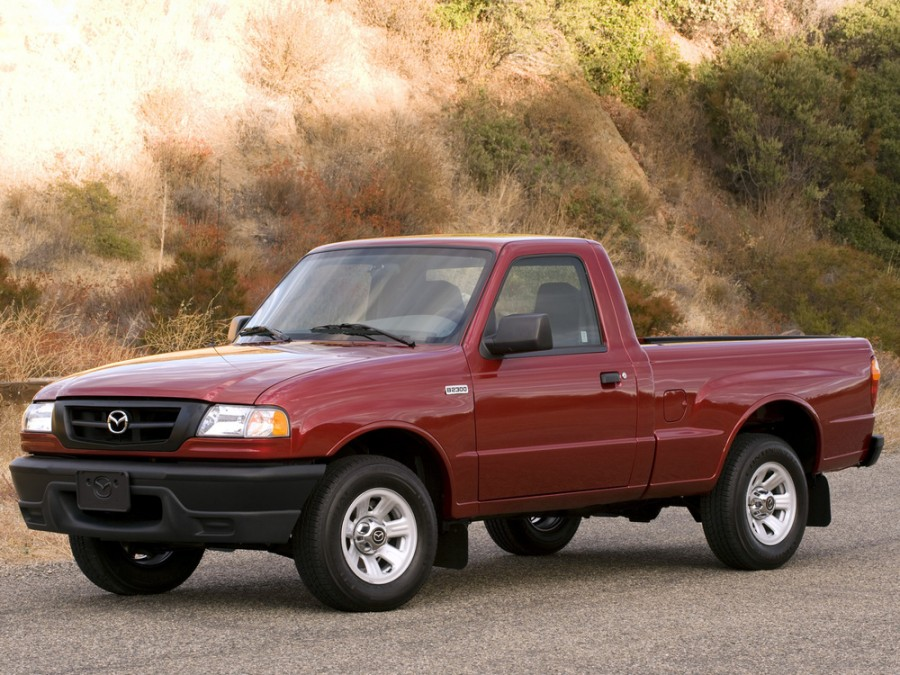 Mazda B-Series Regular Cab пикап 2-дв., 2002–2008, 5 поколение [рестайлинг] - отзывы, фото и характеристики на Car.ru