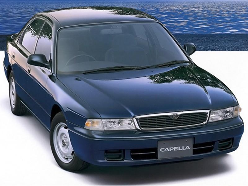 Mazda Capella JP-spec седан 4-дв., 1994–1997, 6 поколение - отзывы, фото и характеристики на Car.ru