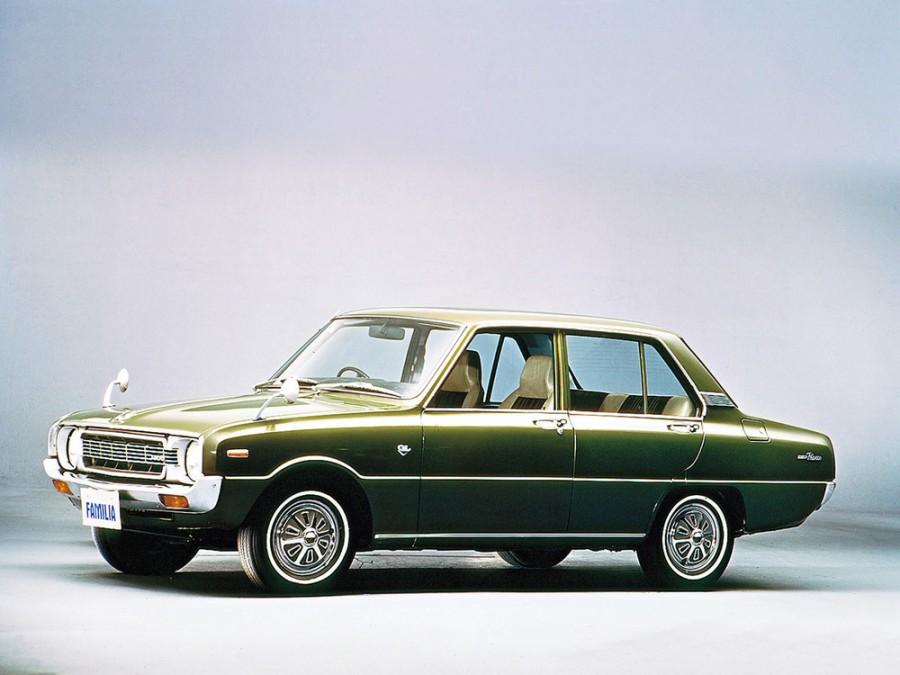 Mazda Familia Presto седан 4-дв., 3 поколение - отзывы, фото и характеристики на Car.ru