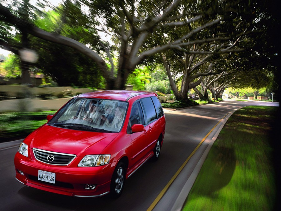 Mazda MPV JP-spec минивэн 5-дв., 1999–2003, 2 поколение - отзывы, фото и характеристики на Car.ru