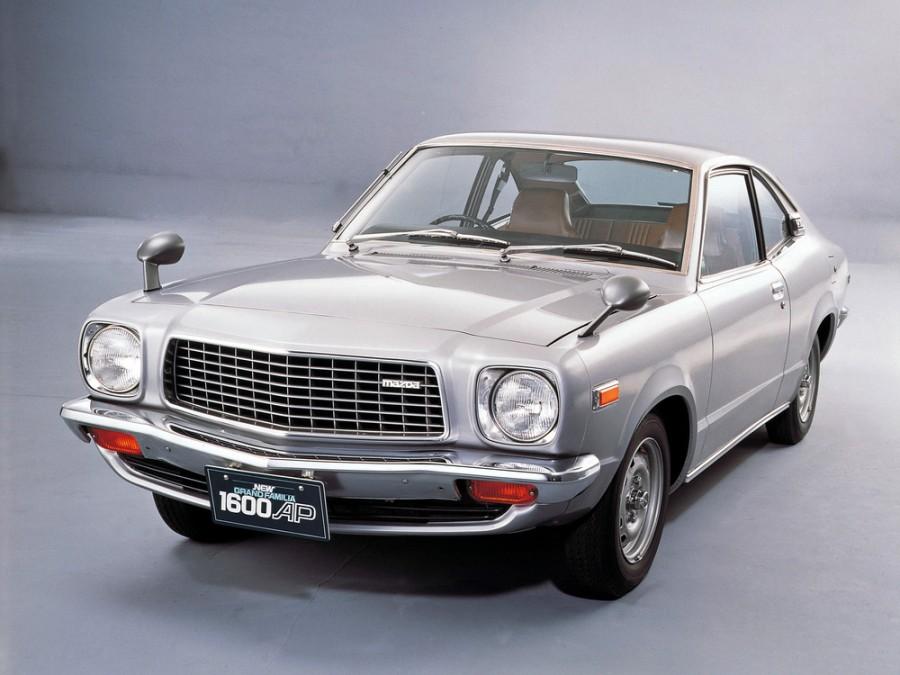 Mazda Familia Grand купе 2-дв., 3 поколение [рестайлинг] - отзывы, фото и характеристики на Car.ru