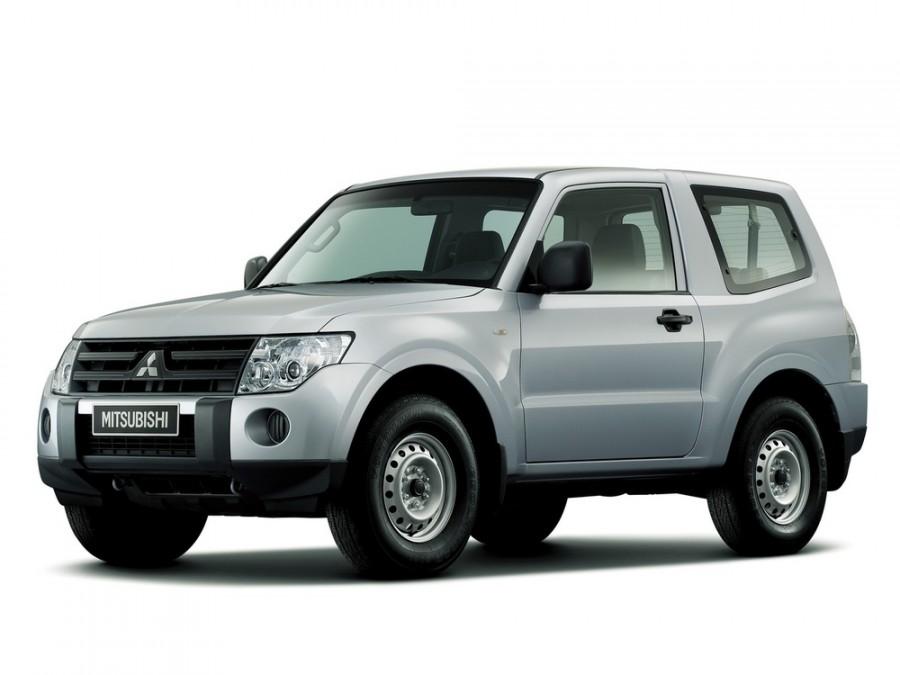 Mitsubishi Pajero внедорожник 3-дв., 2006–2011, 4 поколение - отзывы, фото и характеристики на Car.ru