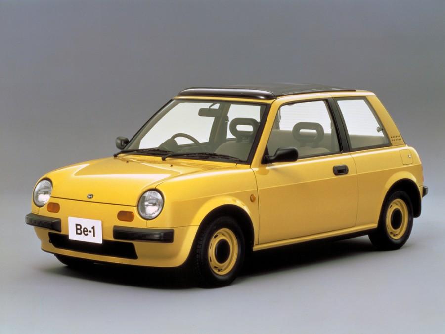 Nissan BE-1 Canvas top хетчбэк 3-дв., 1987–1988, 1 поколение - отзывы, фото и характеристики на Car.ru