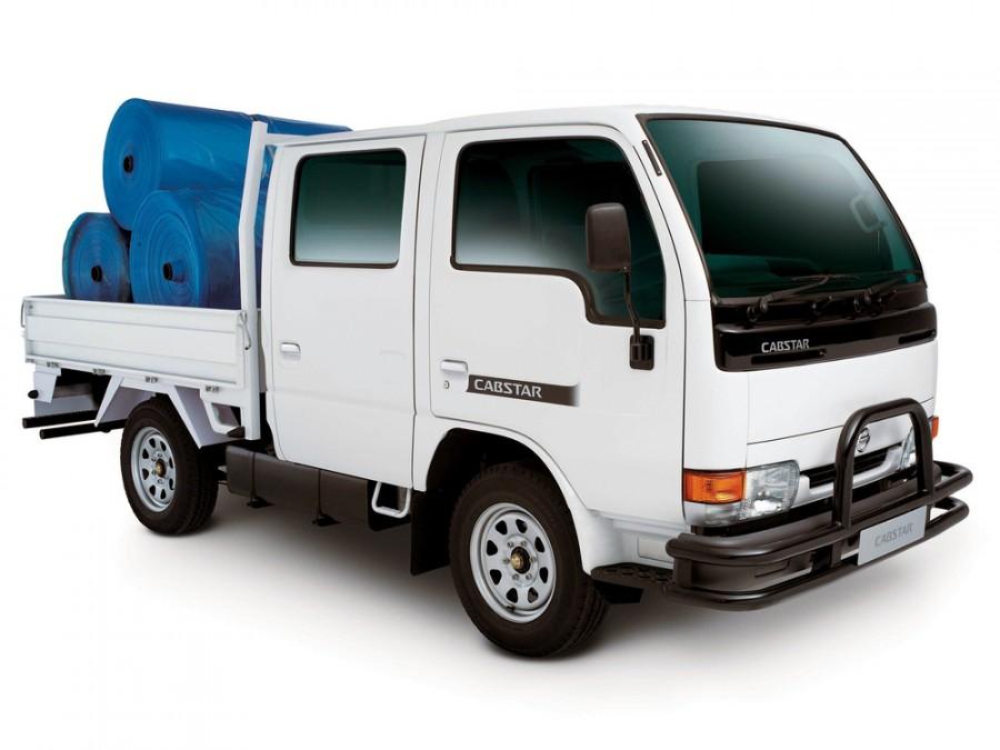 Nissan Cabstar Quad Cab борт 4-дв., 1995–2010, 2 поколение - отзывы, фото и характеристики на Car.ru