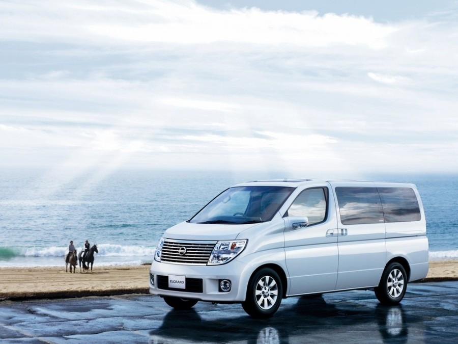 Nissan Elgrand ME51 минивэн 5-дв., 2002–2010, E51 - отзывы, фото и характеристики на Car.ru