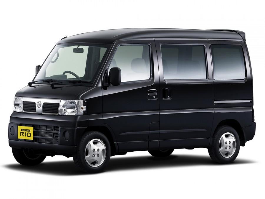 Nissan Clipper Rio фургон 5-дв., 2003–2012, U71 - отзывы, фото и характеристики на Car.ru