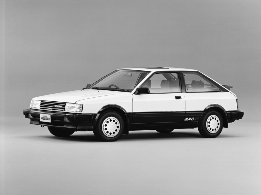 Nissan Pulsar Milano X1 хетчбэк 3-дв., 1982–1986, N12 - отзывы, фото и характеристики на Car.ru