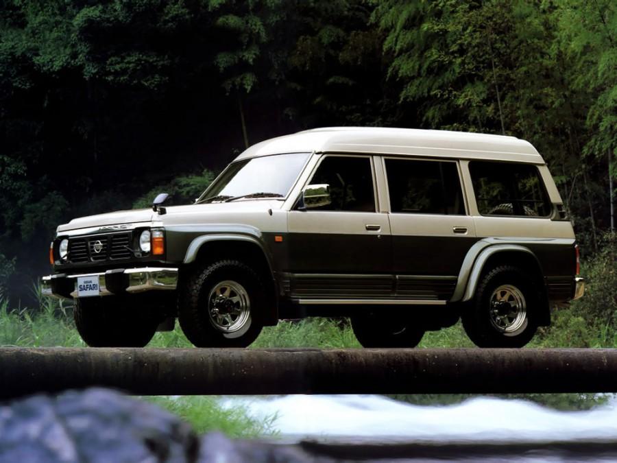 Nissan Safari Station Wagon High Roof внедорожник 5-дв., 1987–1997, 161 - отзывы, фото и характеристики на Car.ru