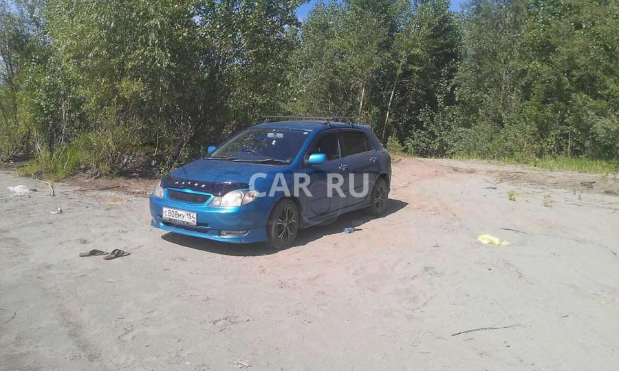 Toyota Allex, Барнаул