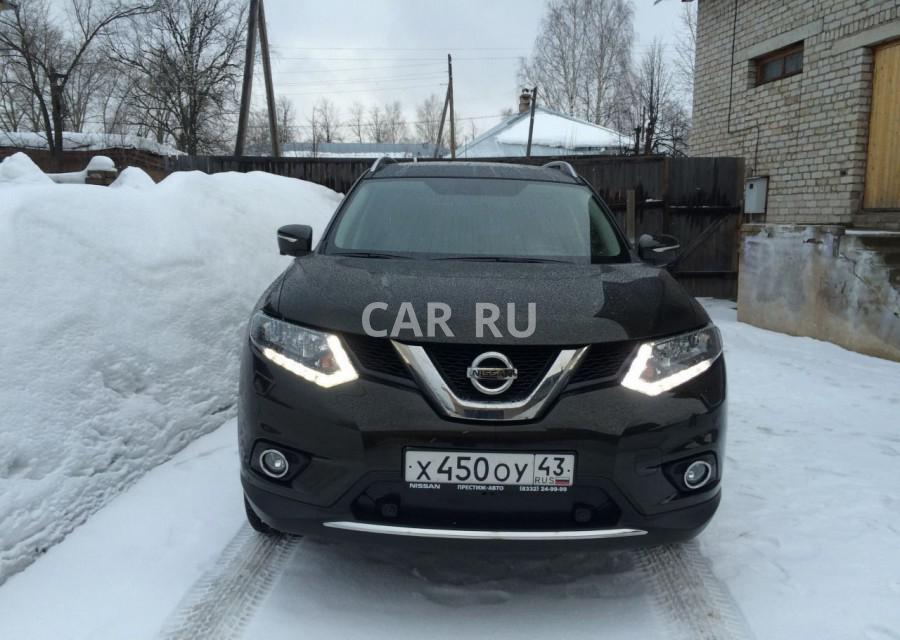 Nissan X-Trail, Белая Холуница