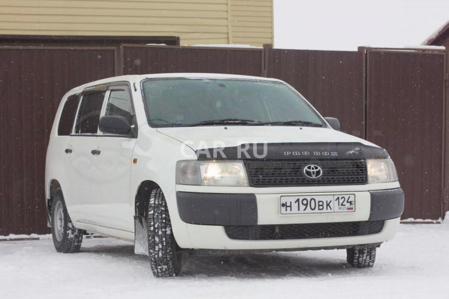 Toyota Probox, Ачинск