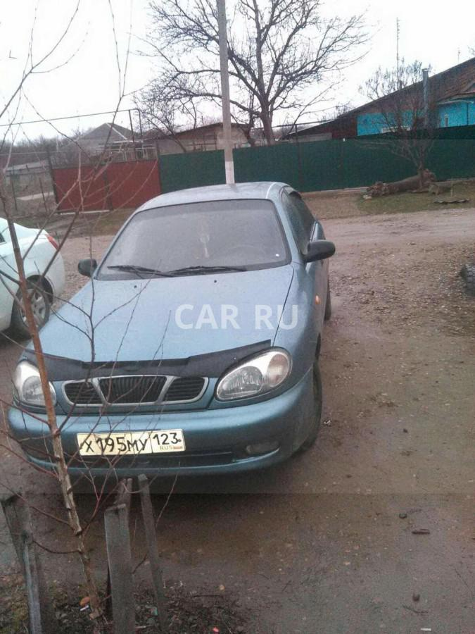 Chevrolet Lanos, Армавир