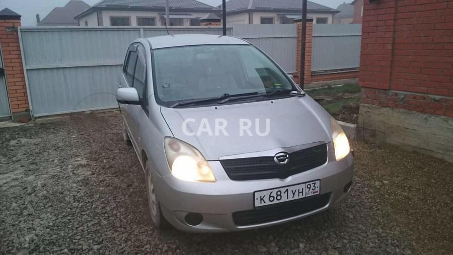 Toyota Corolla Spacio, Абинск