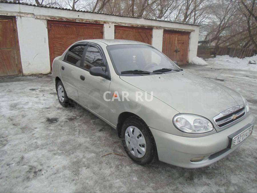 Chevrolet Lanos, Баган
