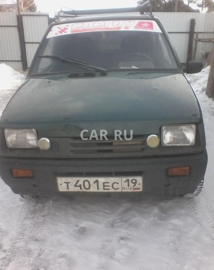 Lada 1111 Ока, Абакан