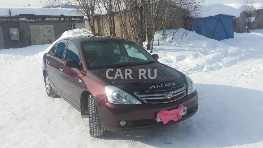 Toyota Allion, Байкальск