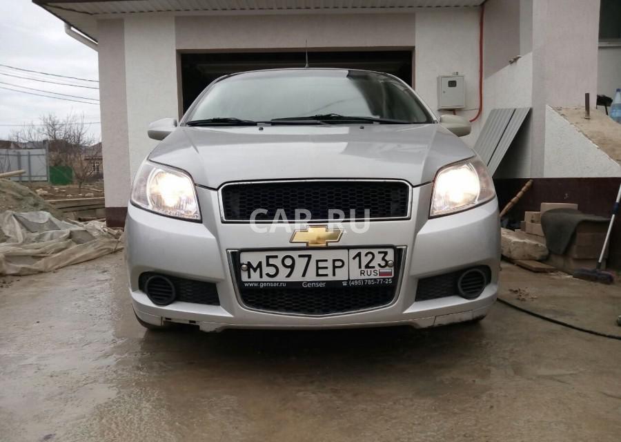 Chevrolet Aveo, Анапа