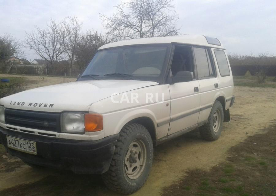 Land Rover Discovery, Анапа
