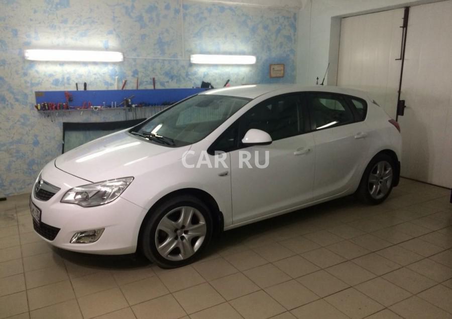 Opel Astra, Астрахань