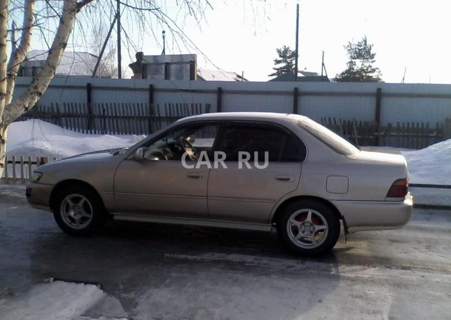 Toyota Corolla, Барабинск