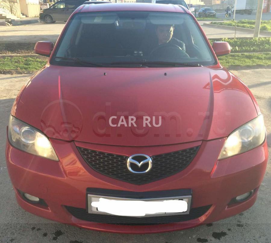 Mazda 3, Анапа