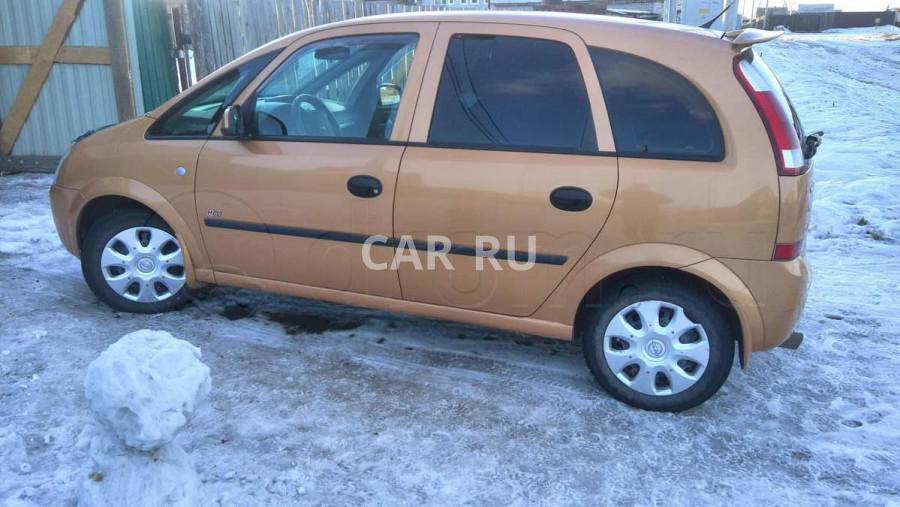 Opel Meriva, Абакан