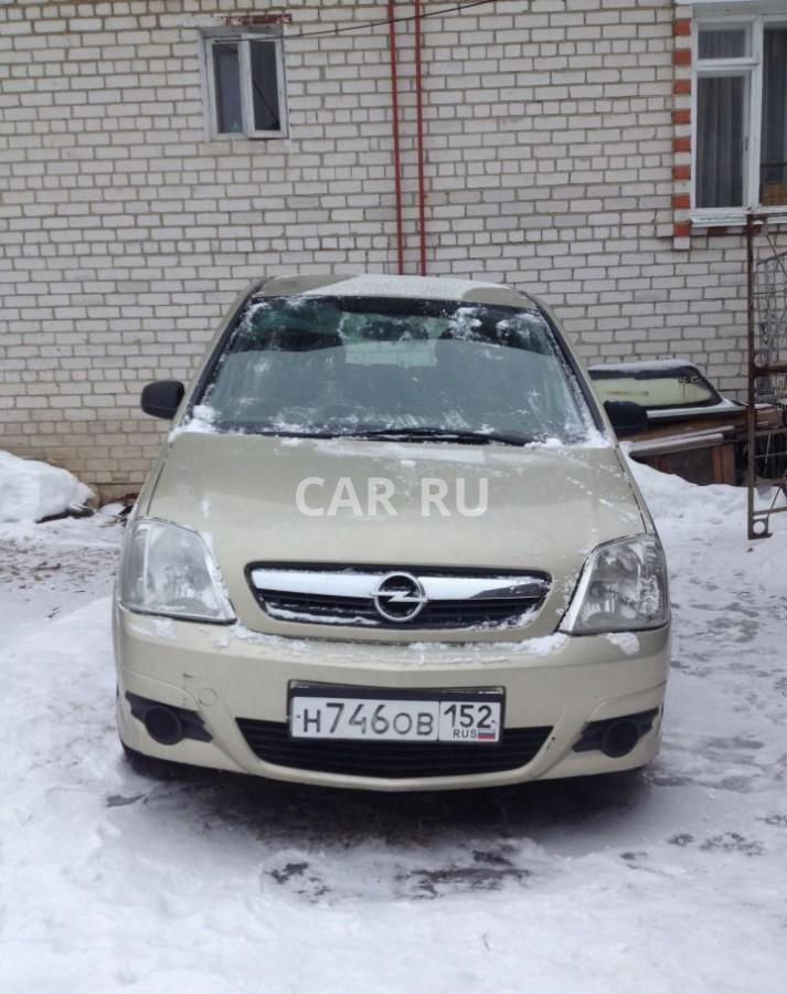 Opel Meriva, Арзамас