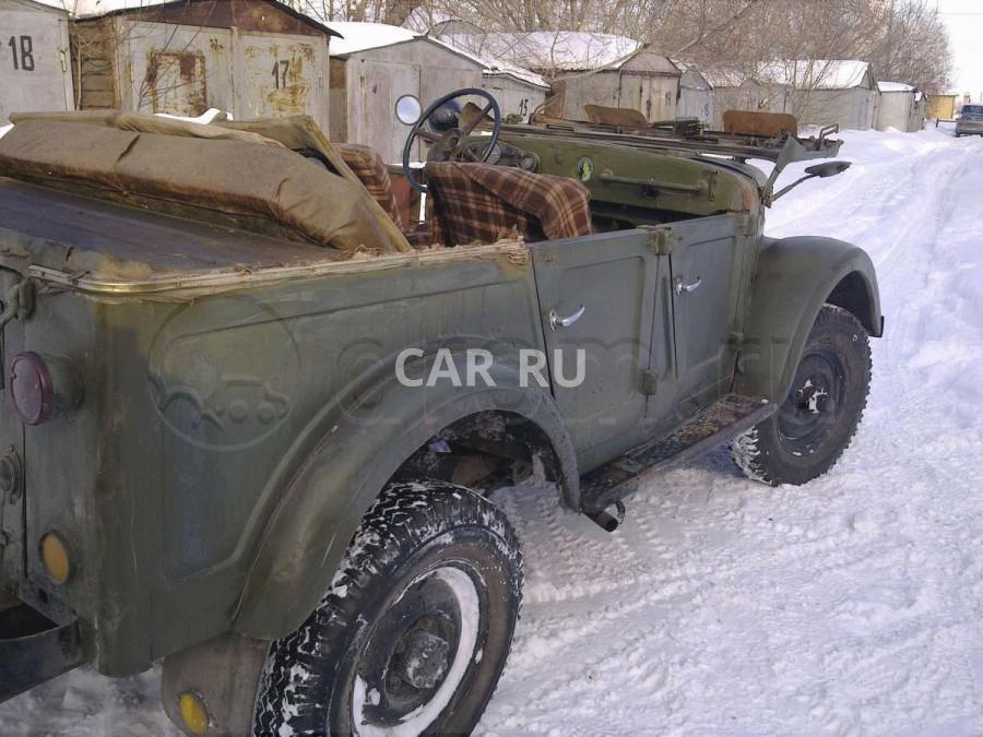 Газ 69, Барнаул
