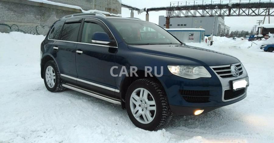 Volkswagen Touareg, Апатиты