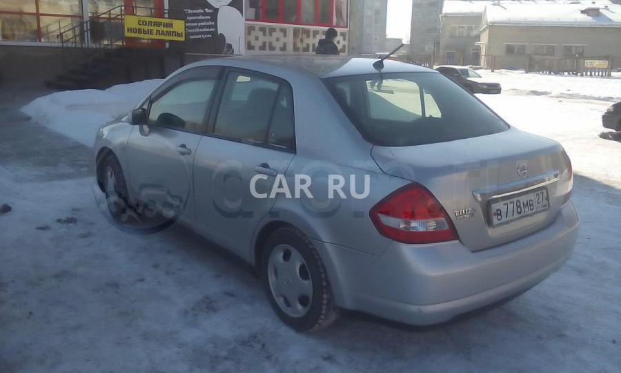 Nissan Tiida Latio, Ангарск