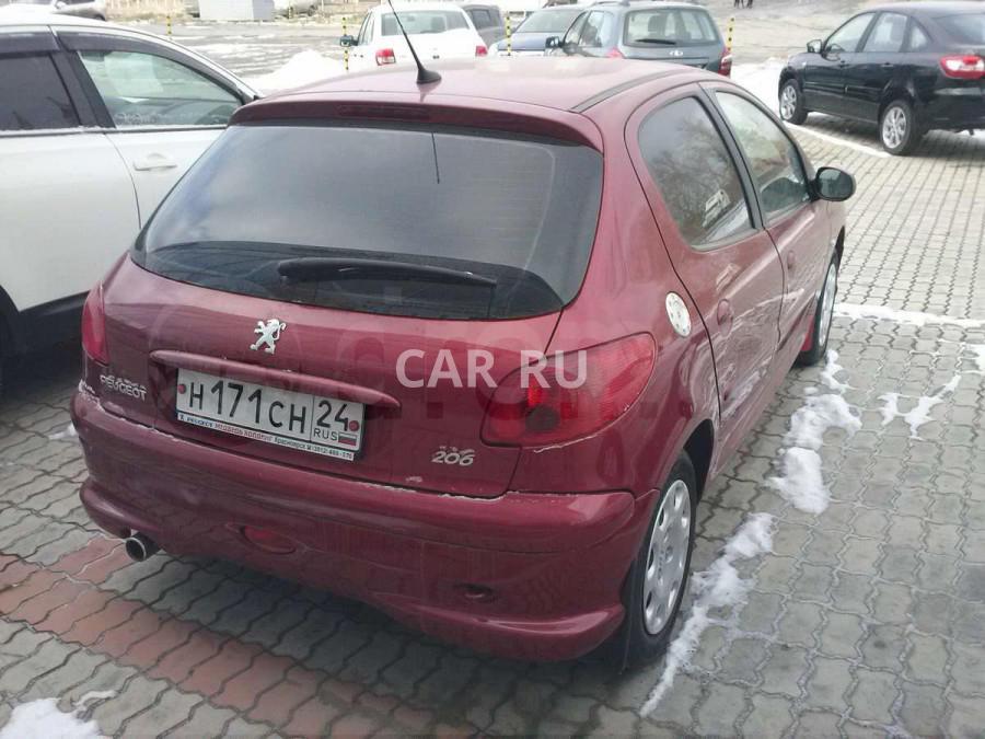 Peugeot 206, Ачинск