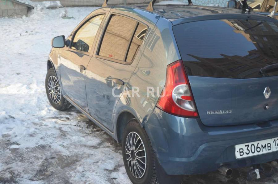 Renault Sandero, Абакан