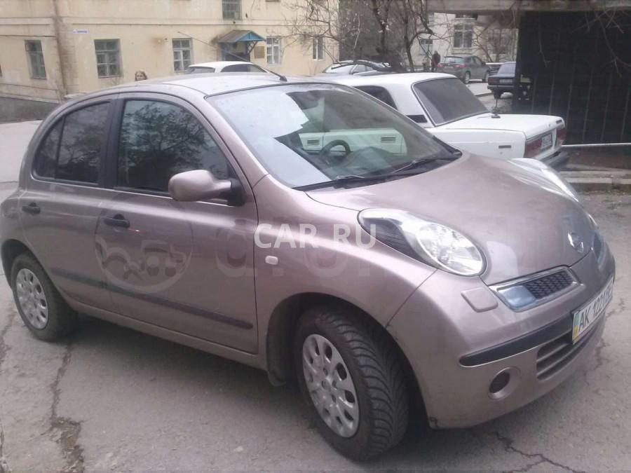 Nissan Micra, Алушта