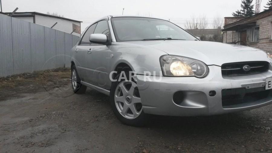 Subaru Impreza, Абакан