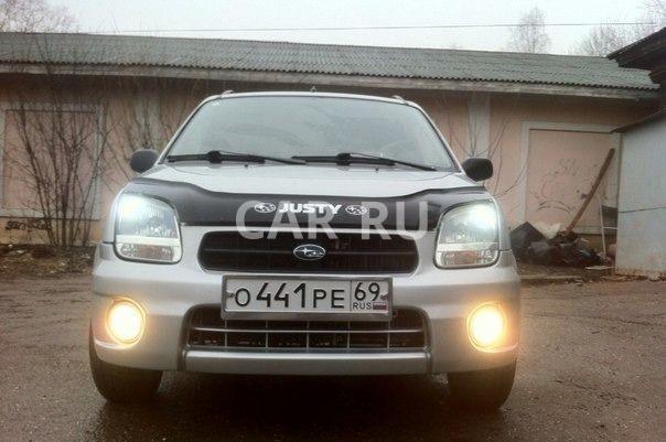 Subaru Justy, Бежецк
