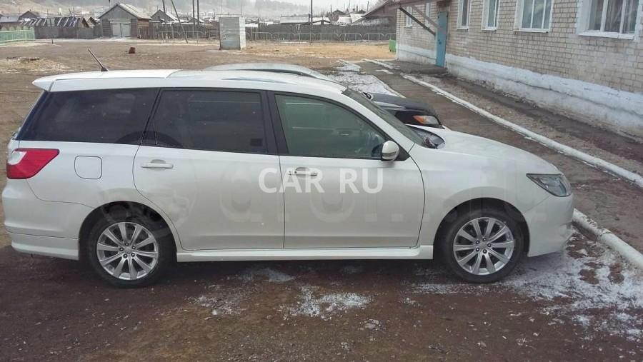 Subaru Exiga, Акша