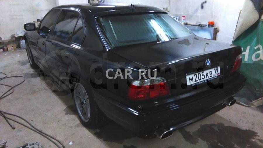 BMW 7-series, Абакан