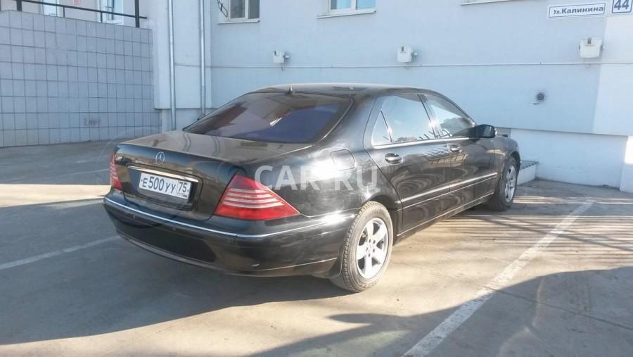 Mercedes S-Class, Агинское