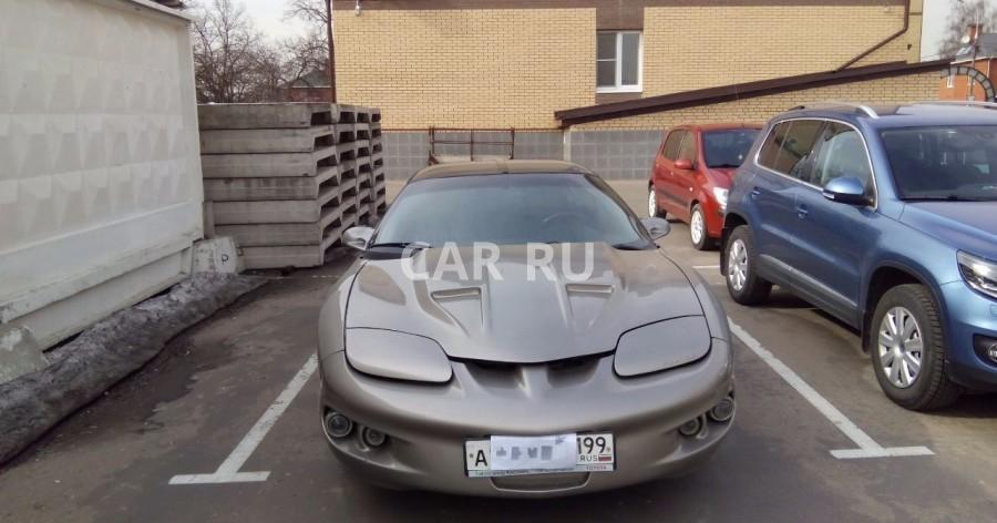 Pontiac Firebird, Балашиха