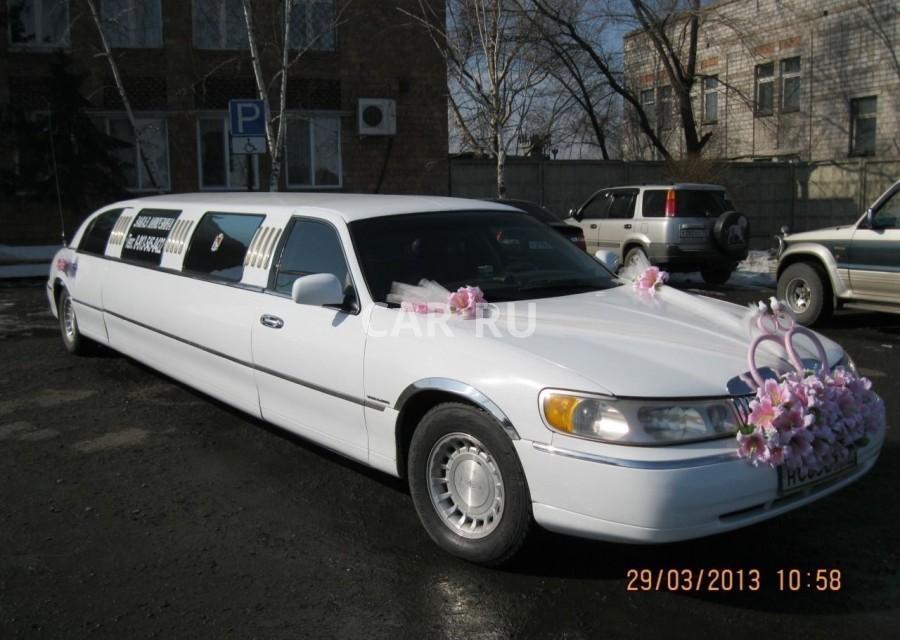 Lincoln Town car, Абакан