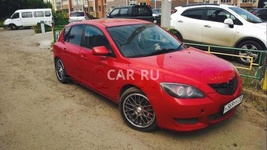 Mazda Axela, Абакан