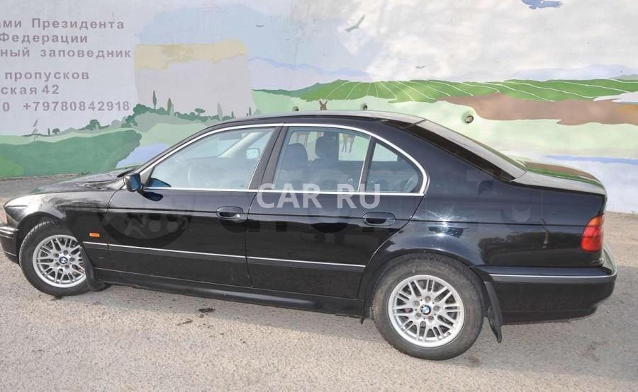 BMW 5-series, Алушта