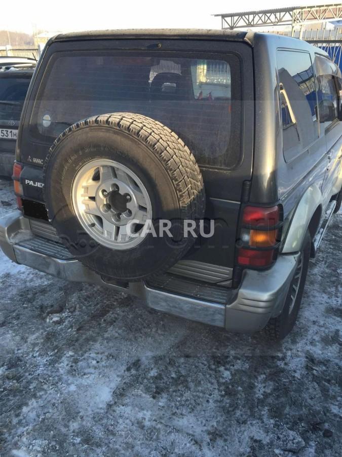 Mitsubishi Pajero, Ачинск