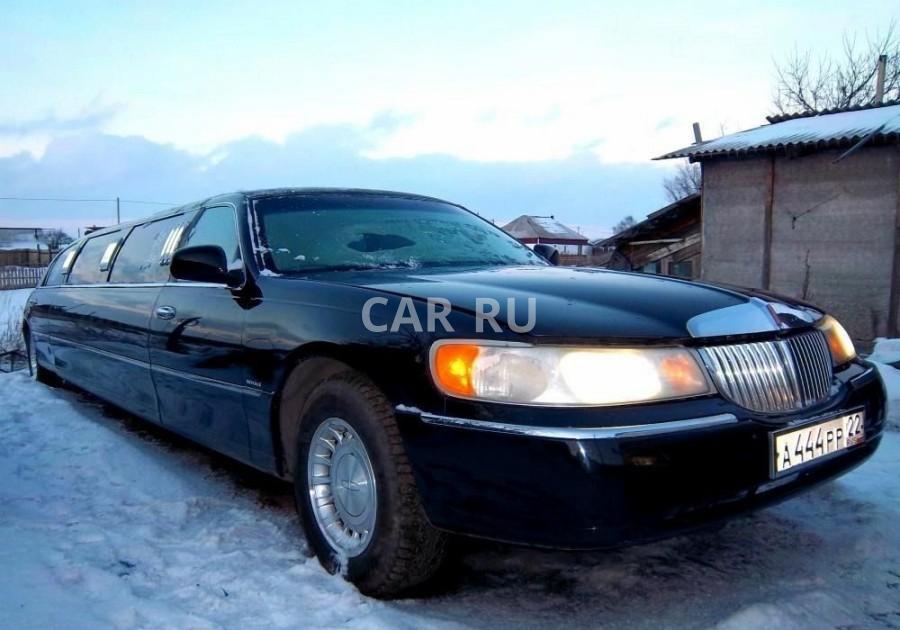 Lincoln Town car, Белово