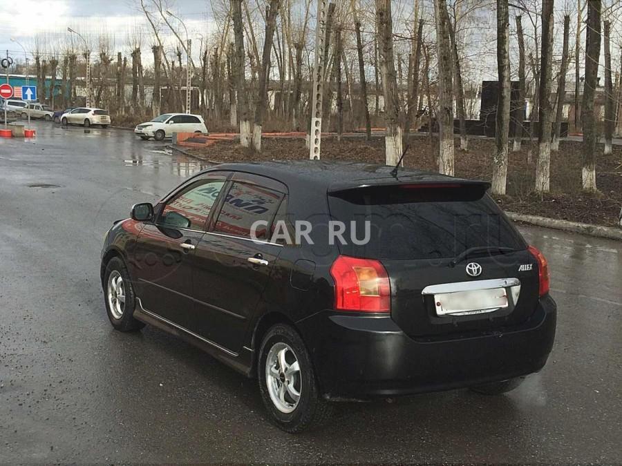 Toyota Allex, Ачинск