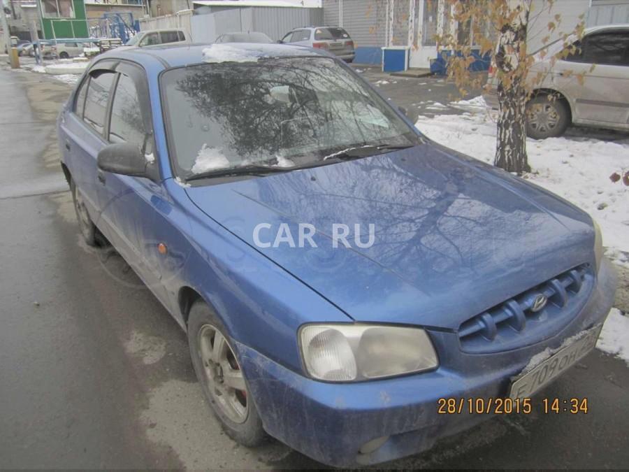 Hyundai Accent, Барнаул