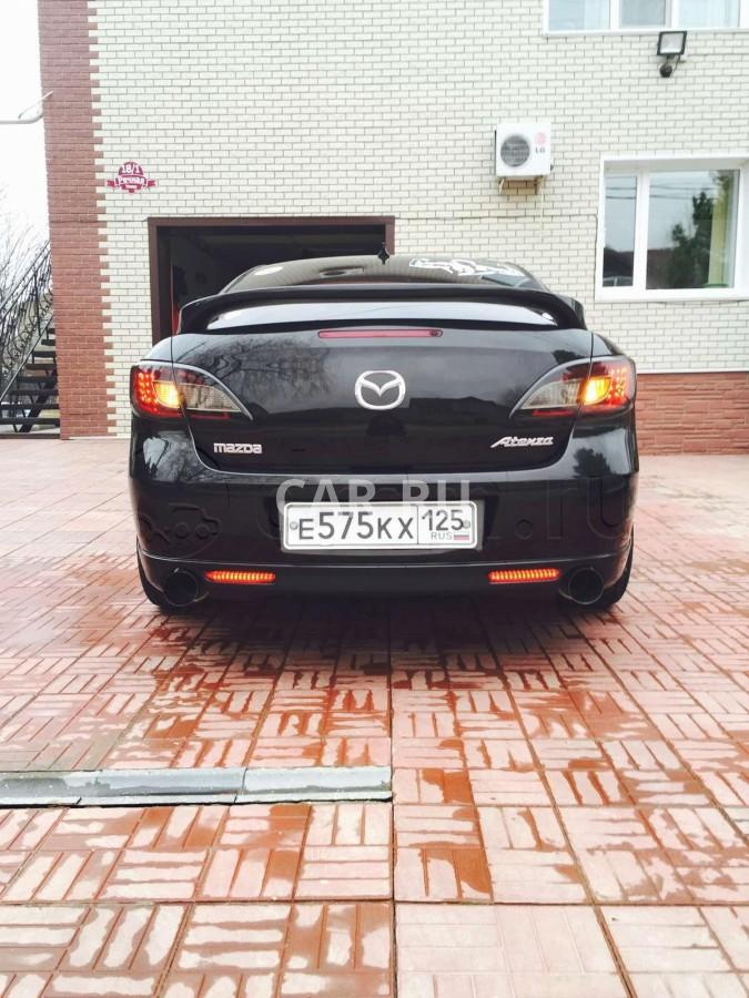 Mazda Atenza, Арсеньев