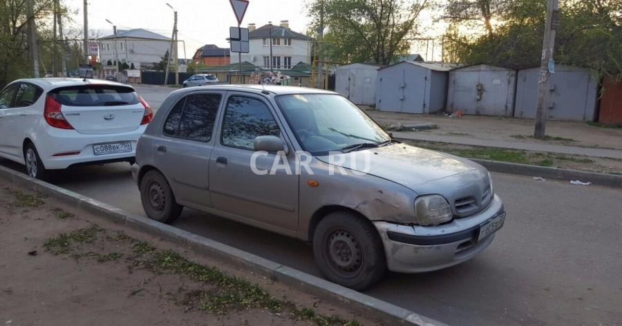 Nissan March, Астрахань