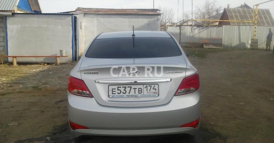 Hyundai Solaris, Агаповка