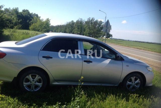 Toyota Corolla, Анапская